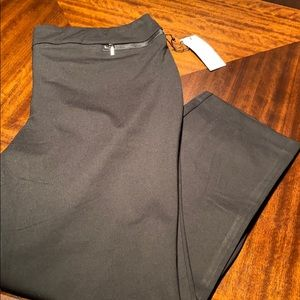 New woman's Rachel Zoe plus size black pant.